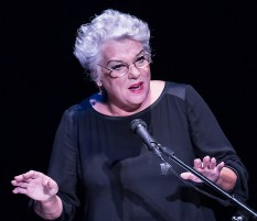 "Tyne Daly - ""Curtain Up"" at the New Vic Theatre 11/9/13 Santa Barbara"