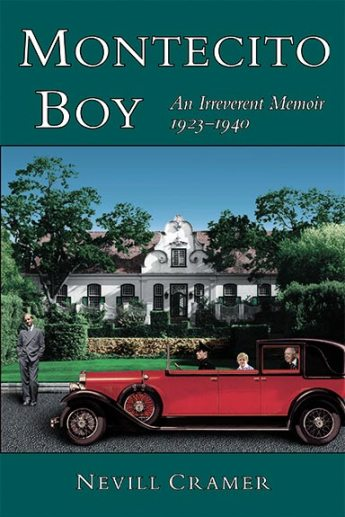 """Montecito Boy"" book cover design"