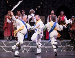 """Dance, dance, wherever you may be..."" - Santa Barbara Revels Winter Solstice Celebration 12/16/16 The Lobero Theatre"