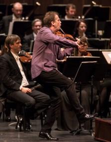 Robert McDuffie soloing with the Bruckner Orchestra Linz - CAMA Santa Barbara 2/7/17 The Granada Theatre