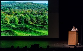 Architect and Artist Maya Lin and her Storm King Wave Field - UCSB Arts & Lectures 1/30/17 Campbell Hall