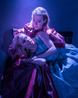 "Victoria Finlayson and Nina Sallinen - Lit Moon Theatre Company's ""Richard III"" 3/7/17 Westmont College Black Box Theater"