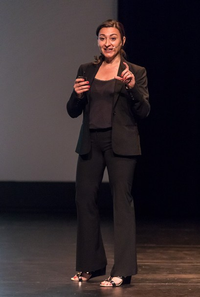 Photojournalist Lynsey Addario - UCSB Arts & Lectures 5/13/17 Campbell Hall