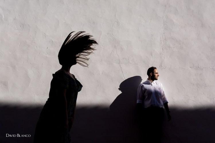 Cristina + David... Sesión de pareja en Alcázar de San Juan