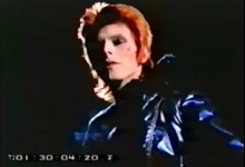 David Bowie, Mick Rock 16mm footage (SILENT)