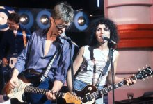 "Marc Bolan & David Bowie Rehearse ""Standing Next To You"""