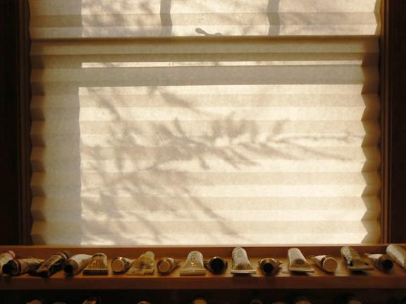 "View from Jeff's Studio, ""New Year's Sun"""
