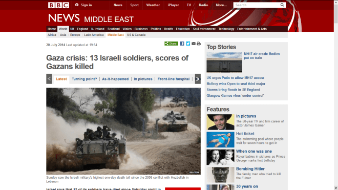 Fair reporting of casualties in the Israeli Gaza invasion?