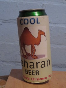 Cool Saharan beer