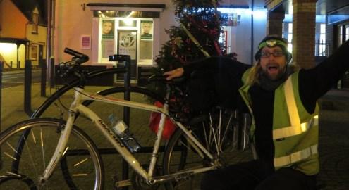 Cycling Home for Christmas