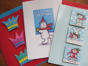 Christmas Bonanza: £5 off, Xmas cards & free books!