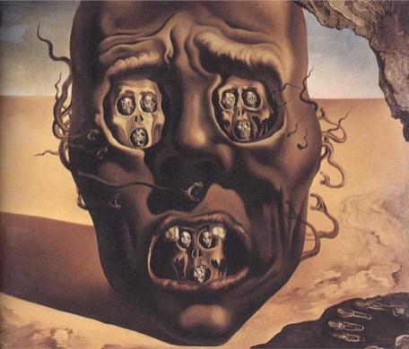 the-face-of-war-salvador-dali-1941