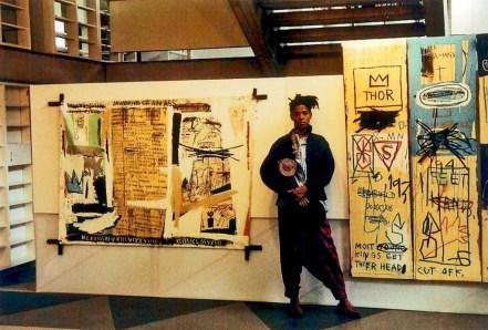 jean michel basquiat first exhibition