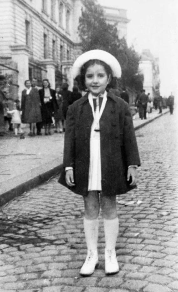 Marina, age 5, in Belgrade