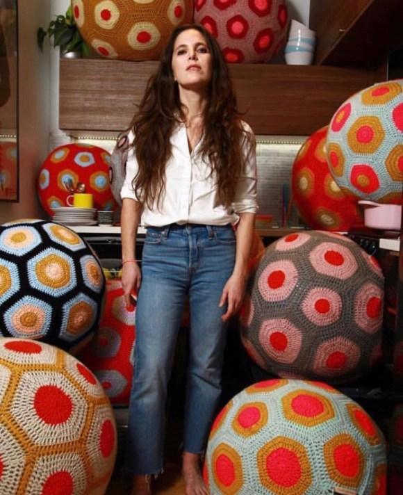 Magda Sayeg yarn bomb history