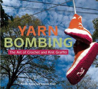 yarn bombing sneakers
