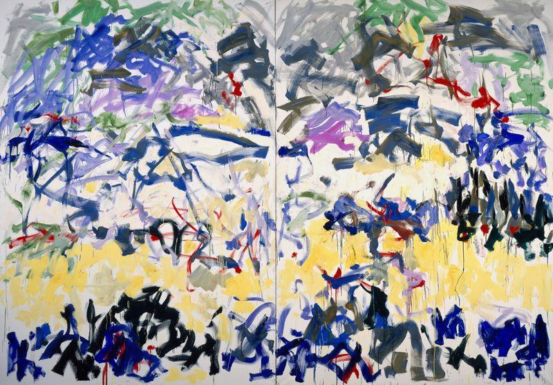joan mitchell last paintings