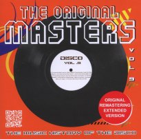 The Original Masters, Vol. 9 the Music History of the Disco (CD Album, 2012)