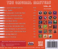 The Original Masters, Vol. 9 the Music History of the Disco (CD Album, 2012) Back cover.