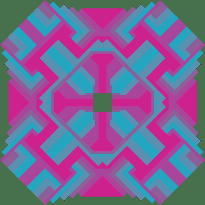 Mandala Projeto Geométrico Colorido