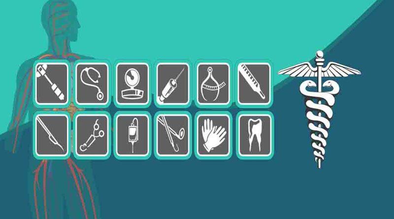 Pacote com diversos ícones tema Medicina 2021