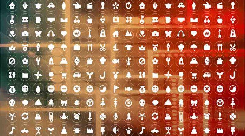 Pacote de ícones redes sociais webkit 2021
