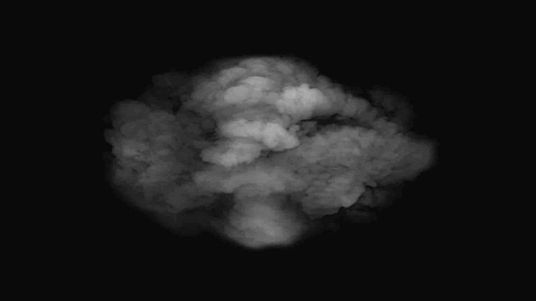 Fumaça efeito visual Adobe Photoshop