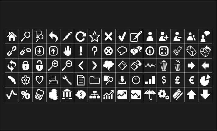 Coleção de Ícones SVG