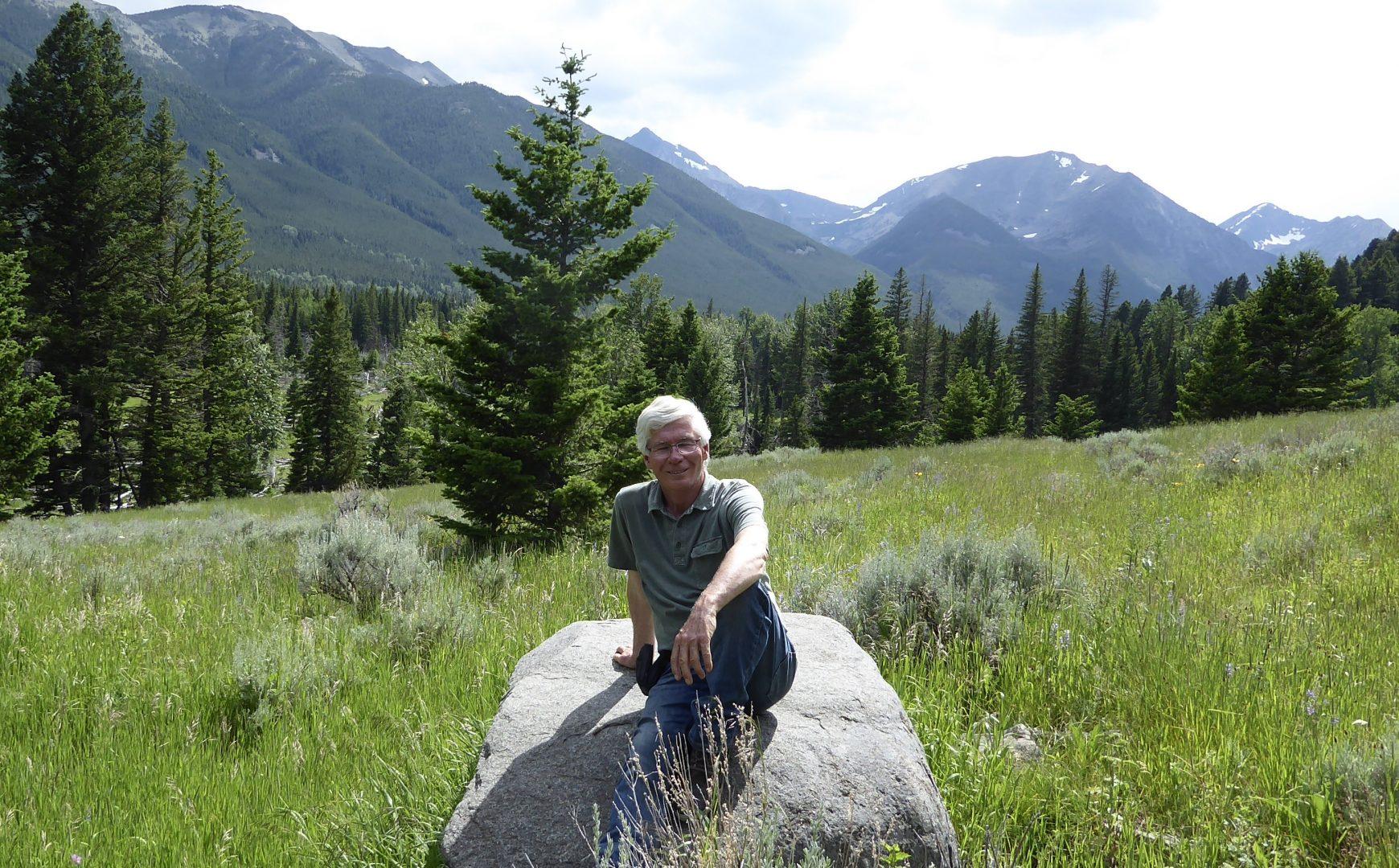 David at his favorite vacation spot in Montana