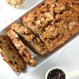 Coconut-Chocolate Chip Banana Bread