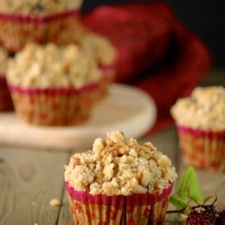 Raspberry Oat Crumb Muffins 07