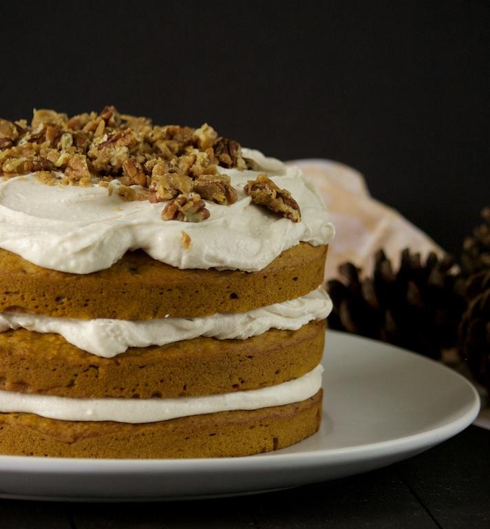 Pumpkin Pecan Cake 02