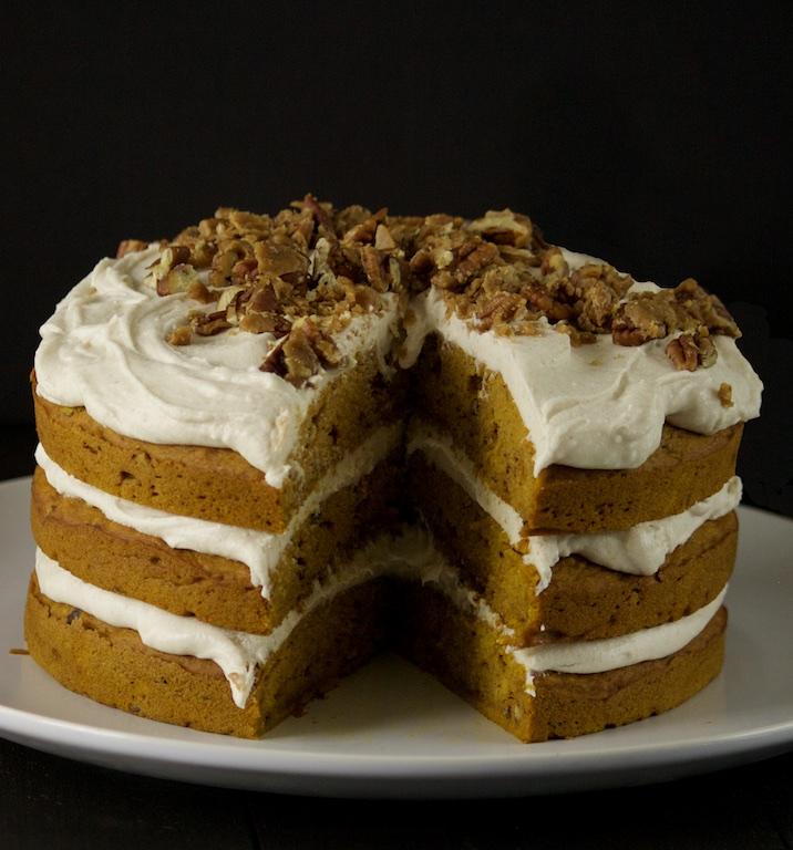 Pumpkin Pecan Cake 09