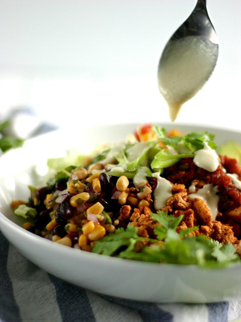 DIY Vegan Burrito Bowl