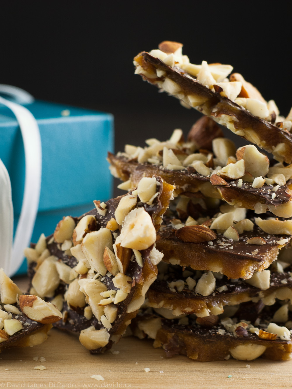 Vegan Chocolate Hazelnut Toffee