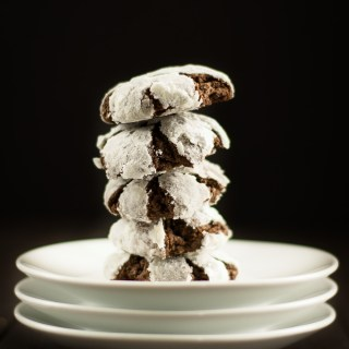 Vegan Chocolate Crinkles