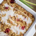 Raspberry Almond Baked Oatmeal