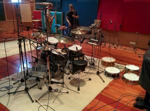 Grabación batería DVD Manu Tenorio - David de la Fuente
