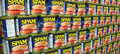 Spam spam spam lovely spam