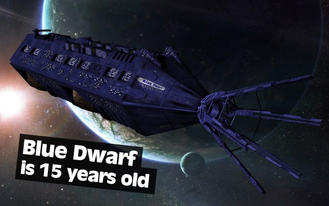 blue dwarf is 15