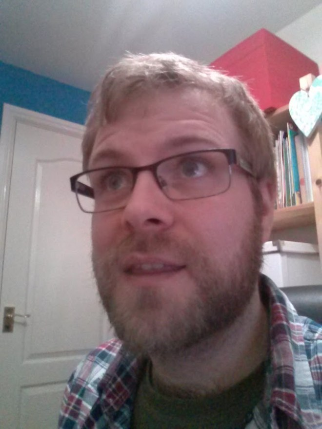David with a beard