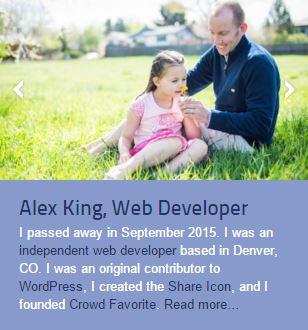 alex king bio