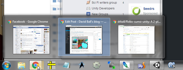 The taskbar in Windows 7-10 is so much better than on Mac