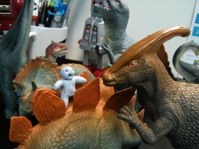 desk dinosaurs