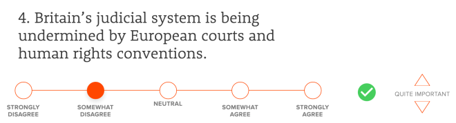 Britain's judicial system is being undermined by European courts and human rights conventions.