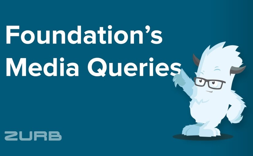 Combining media queries in Foundation
