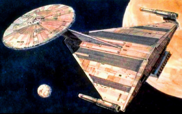 Enterprise Phase II by Ralph McQuarrie