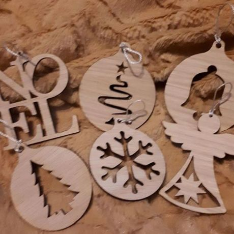 Christmas Ornament 6 pack