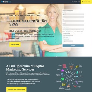 Industry Specific Landing Pages