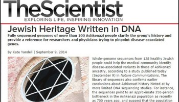 New Genetic Study Confirms Racial Basis of Judaism